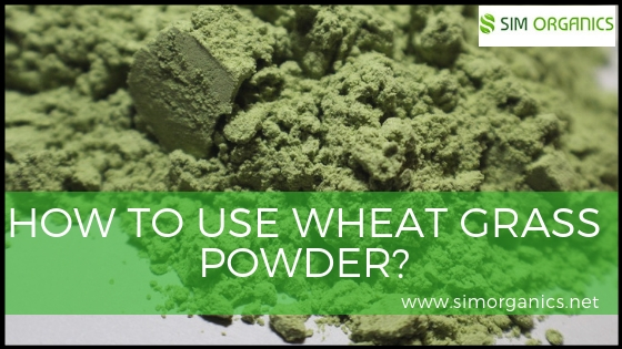 How To Use Wheat Grass Powder?