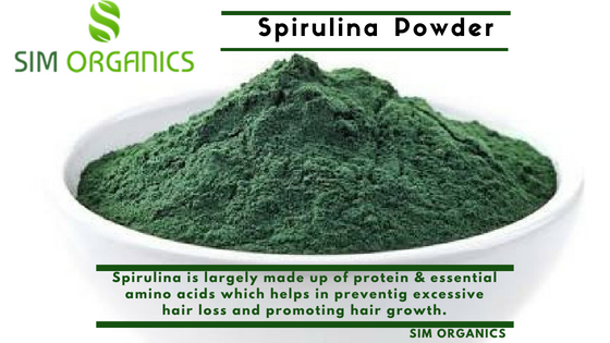 Spirulina For Healthy Hair