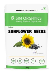 SIM Organics Sunflower Seeds