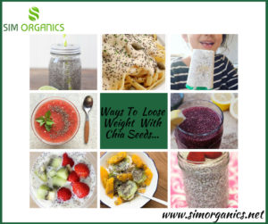 Ways To Loose Weight With Chia Seeds...