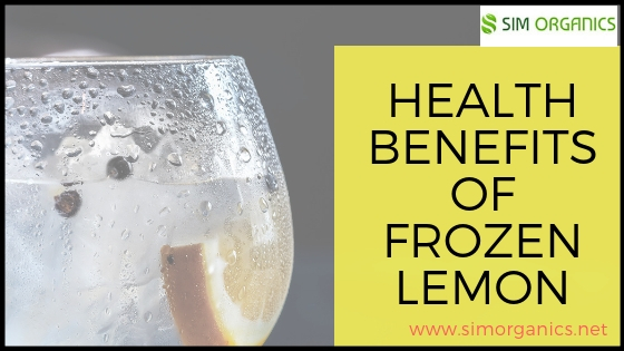 Health Benefits Of Frozen Lemon