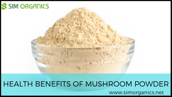 Health Benefits Of Mushroom Powder